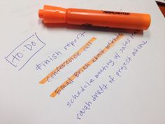 Did you know, If you're crossing things off your to-do list, do it with an orange highlighter? Looking at the color orange stimulates our involuntary nervous system – which makes us more efficient and focused – so we'll get even more done. John Tesh, Productivity In The Workplace, Very Interesting, Smart Quotes, Nervous System, Just Love, Did You Know, Organization Ideas, Organizing