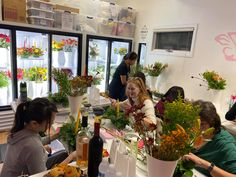 Unique Floral Arrangement Classes offered at EB Flower Studio in East Brunswick NJ! Check out our website to see the upcoming events! Floral Arrangement Classes, Floral Arrangements, Flower Studio, Lasting Memories, Upcoming Events, Girls Night Out, Floral Design, Table Settings, Valentines