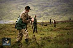 The Macnab Hunters: To join the #MacnabClub elite you must rise to the #challenge: stalk a red stag, shoot a grouse, and catch a salmon all within a single day.