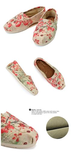 #Hand #Painted Camellia Canvas Shoes.SPECIAL,HOT SALE,SHARE WITH YOU!