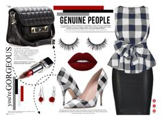 """""""Genuine People"""" by yurisnazalieth ❤ liked on Polyvore featuring ONLY, Anja, Proenza Schouler, Kate Spade, Bling Jewelry and Lime Crime"""