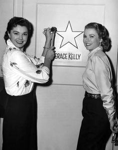 """""""Esther Williams and Grace Kelly """""""