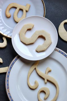 Great idea for place settings at the next party | EasyTypography Cookies