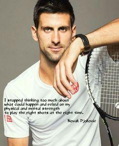 Inspirational Novak Djokovic Words