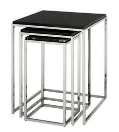 The Netherlands / Ridderkerk / Show Room / Living Room / Side Table Set / Eichholtz / Status Living / Eric Kuster / Metropolitan Luxury