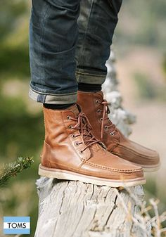 TOMS men's boots are sure to take you on an exciting adventure this season.