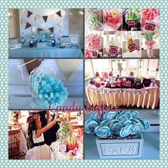#candy #candybuffet #candytable #ideas #weddings #babyshower #favors #ideas