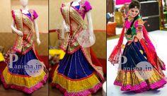 stylish rajasthani gherdaar lehenga