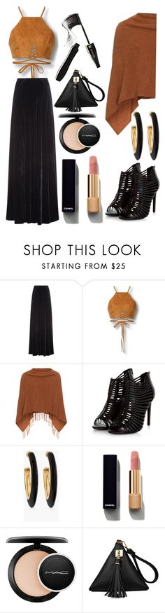 """""""Untitled #1269"""" by moon-1975 ❤ liked on Polyvore featuring Etro, Samoon, Chico's, Chanel, MAC Cosmetics, Lancôme and set"""