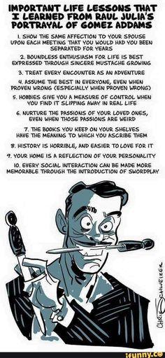 Die Addams Family, Adams Family, Addams Family Quotes, Addams Family Values, Mbti, Los Addams, Raul Julia, Def Not, Entertainment