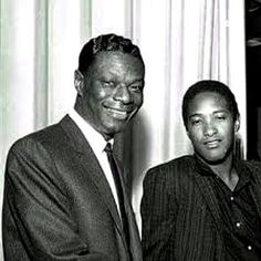 Nat King Cole and Sam Cooke