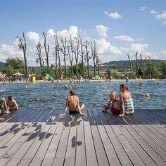 Kudy z nudy - 25 tipů na koupání v termální vodě a přírodních biotopech Trampolines, New York Skyline, Camping, Travel, Campsite, Viajes, Trips, Outdoor Camping, Traveling