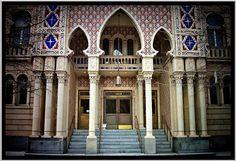 Almas Temple Shriners ~ Entrance ~ Washington DC ~ Moorish Architecture | Flickr - by Onasill