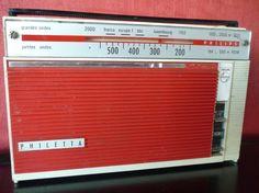 Poste radio vintage Philips radio rétro de marque philips philetta en trés bon état