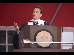 USC Commencement Address by Arnold Schwarzenegger - YouTube