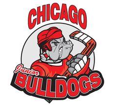 2013, Chicago Jr. Bulldogs (Romeoville, Illinois) Canlan Ice Sports Arena Div Central #ChicagoJrBulldogs #RomeovilleIllinois #NA3HL (L7404)