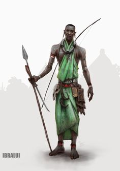 CJ from the Grove tribe by iBralui.deviantart.com on @DeviantArt