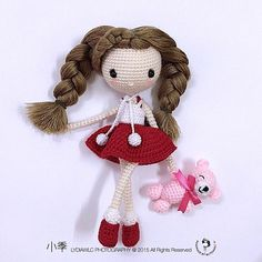 Weibo crochet activity - 小季 @ playing time  Pattern by: TCP-仰仰