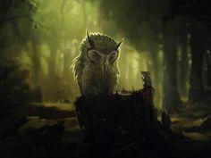 wallpaper: Funny Owl