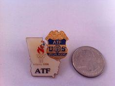 Enamel Lapel Pin ATF US United States Special Agent Atlanta Olympics 1996 Atlanta Olympics, Special Agent, Lapel Pins, Enamel, United States, Best Deals, Accessories, Vitreous Enamel, Enamels