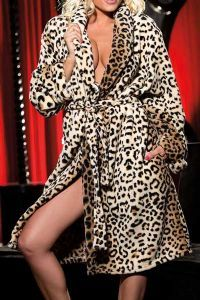 74bc9a5c2e 48 Best Leopard Print Dressing Gown images