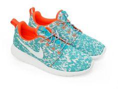 new arrival 6e023 955e5 Billiga Nike Roshe Run Print Dam Sport Skor Orange Turkos   390.89KR Nike  Roshe Run