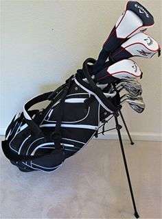 Callaway Mens Left Hand Golf Club Set Regular Flex Complete Driver Fairway Wood Hybrid Irons Putter Stand Bag LH Lefty * For more information, visit image link. Note: It's an affiliate link to Amazon