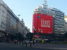 Buenos Aires. Vamos Argentina carajoo!