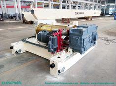hoist crane price-China made 5 ton double girder overhead hoist crane price
