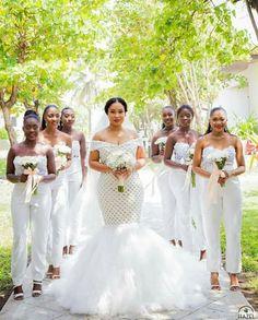 Bridesmaids in jumpsuits...niiice