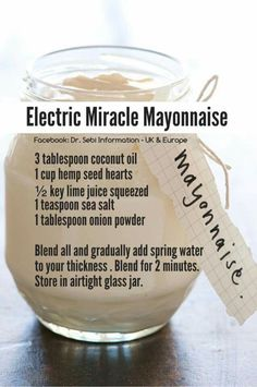Alkaline Electric Miracle Mayonnaise (vegan)