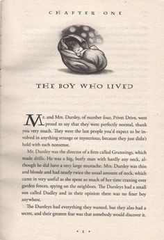 The Boy Who Lived (must always repin the first page of the gateway to geekery.)