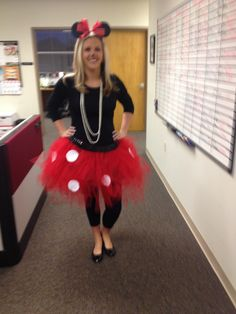 Adult Costumes · Disney Costumes · Homemade Minnie Mouse tutu  sc 1 st  Pinterest & DIY: Minnie u0026 Mickey Mouse Costume...I think this is cute. Dont ...