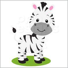 premium african safari animals clip art vectors safari animals rh pinterest com Monkey Baby Clip Art baby zebra clipart png