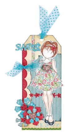 """""""Sweet"""" tag  - project instructions included and can be found at www.paperwishes.com"""