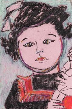 Krysia Art Prints, Mixed Media, Painting, Male Sketch, Giclee Art Print, Art, Anime, Colours
