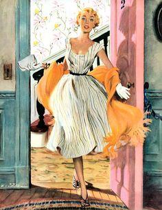 1954 The Lady's Future - Ernest Chiriaka