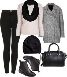 winter outfit but I hate the shoes