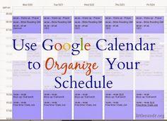Use Google Calendar to Organize Your Schedule