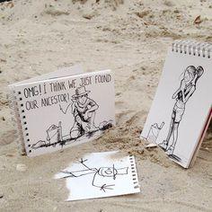 Ilustraciones que viven en el mundo real... maravilloso!