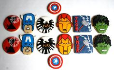 Avengers Cookies.  Wow. I'm impressed.  And hungry.