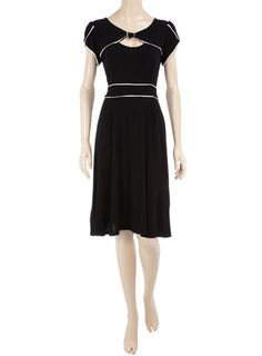Black bow front dress $57