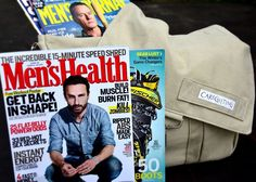 Keep men entertained for hours during get well and after surgery. Send this get well basket full of happy distractions! Four of the latest men magazines all packed into a handy canvas messenger bag that he can use for work, sports, traveling or play.  http://www.caregifting.com/menwellentertain.html