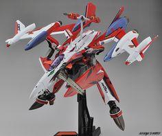 DX Chogokin YF-29 & SUPER PARTS
