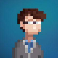 Pixel Art portraits by Lee Occleshaw / Stone Dragon Workshop Order custom portraits at : fiverr.com/leeoccleshaw