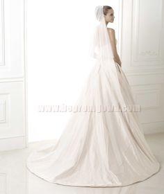 Taffeta Wedding Dresses 2015 Pronovias Style BLUMA [Pronovias BLUMA]