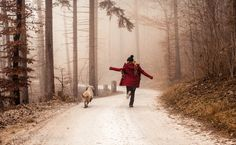 Red Riding Hood (And the Big Bad Wolf) by Kim Leuenberger, via 500px