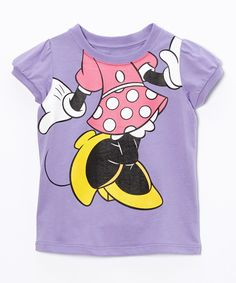 Look at this Minnie Mouse Character Tee - Toddler on #zulily today!