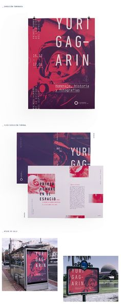 If we wanted to propose a stylized duo tone // Identidad Institucional: PLANETARIO on Behance Web Design, Layout Design, Print Design, Poster Layout, Print Layout, Book Layout, Editorial Design, Editorial Layout, Typography Design