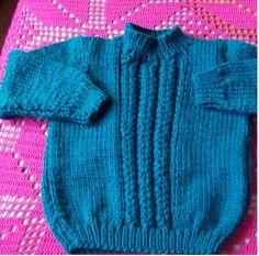 Buzo y gorro para niño – 3 años | Curso de tejido Children, Sweaters, Babys, Pastel, Fashion, Tricot, Log Projects, Kids Knitting Patterns, Clothes Patterns